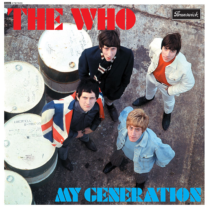 The Who My Generation Great New POSTER