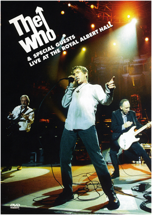the who special guests live at the royal albert hall the who. Black Bedroom Furniture Sets. Home Design Ideas