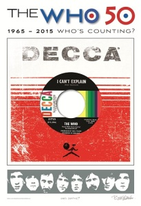 The Who 50th Decca poster