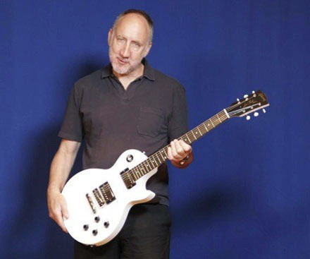 pete townshend to receive les paul award the who. Black Bedroom Furniture Sets. Home Design Ideas