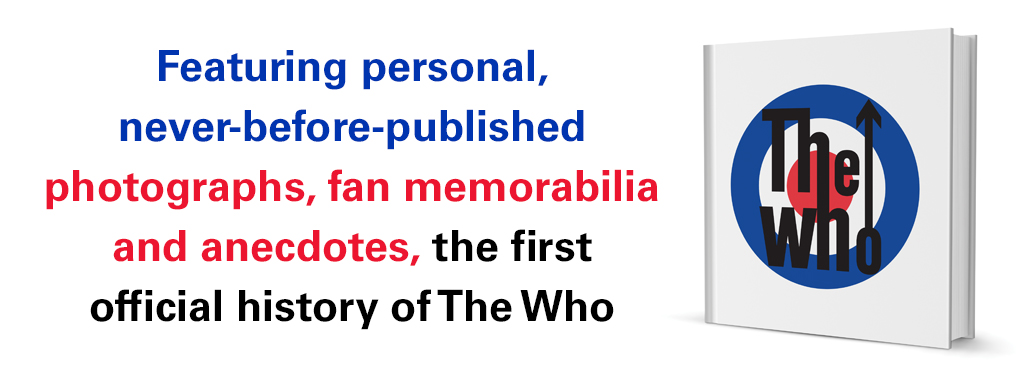 The Who banner