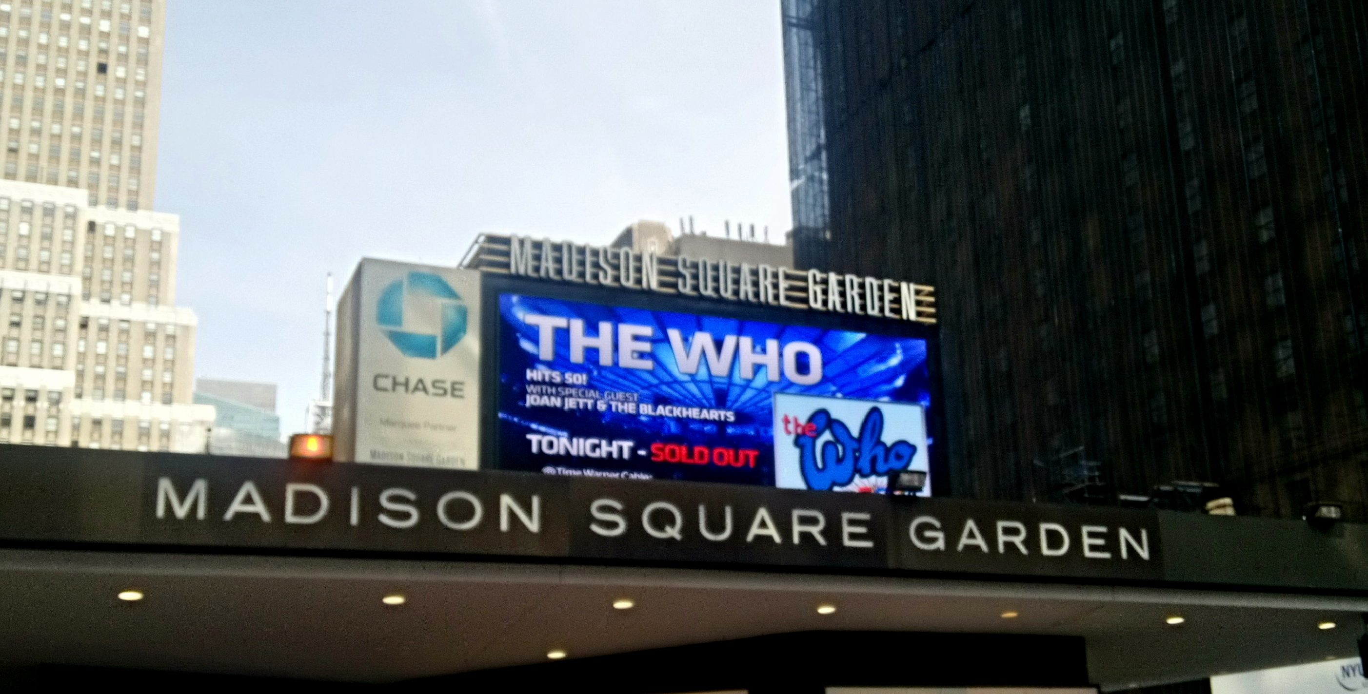 Mar 3 2016 New York City Madison Square Garden The Who