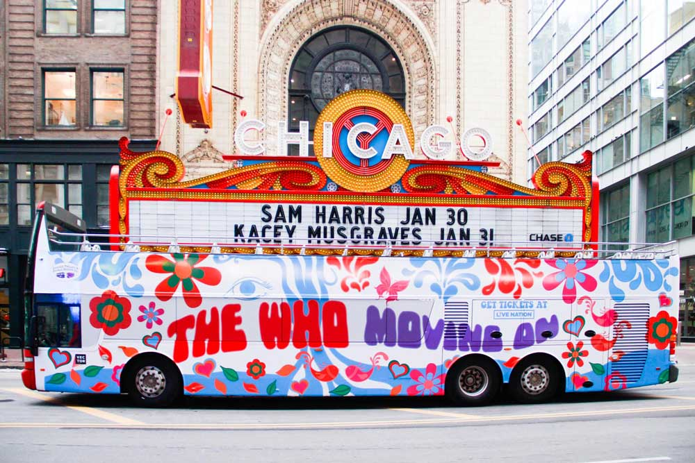 187172cec In celebration of their recently announced 2019 North American MOVING ON!  Tour, The Who have launched a series of pop up Magic Buses straight from  the 60s ...