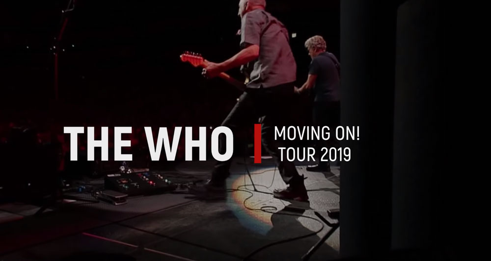 The Who Moving On! Tour 2019 Who Are You