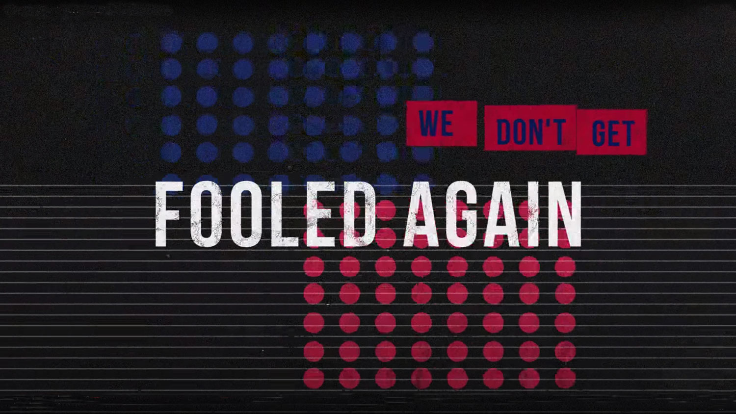 The Who 'Won't Get Fooled Again' with lyrics