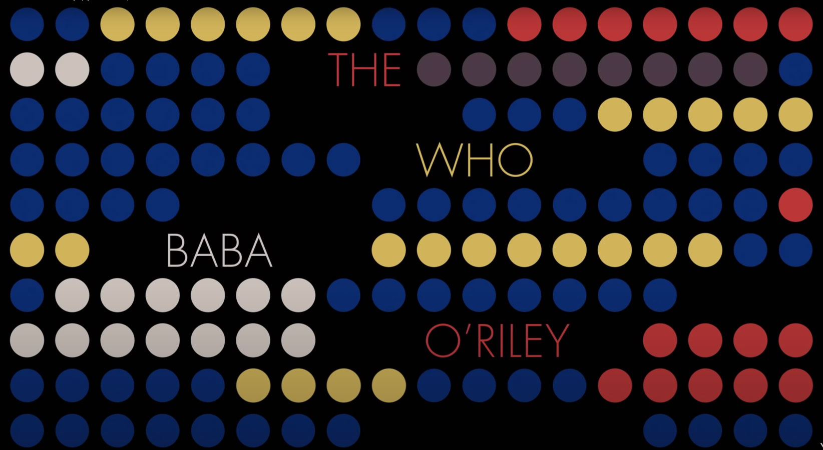 The Who 'Baba O'Riley' with lyrics